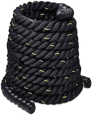 Chencheng プロのロープを訓練フィジカルトレーニングロープロープ戦いロープ本体 スポーツアウトドア (Size : 15mX50mm)