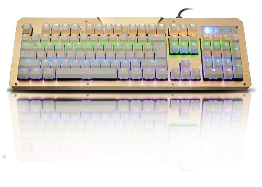 N M Z LED Backlit Keyboard for Gaming Keyboard Mechanic