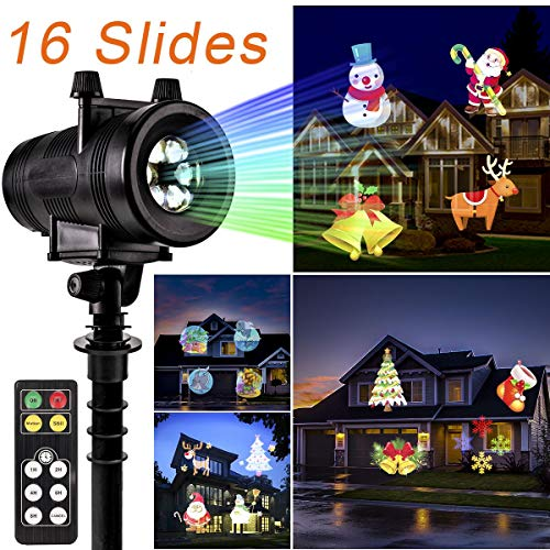 GIGALUMI Christmas Projector Light, Waterproof Bright Led Landscape