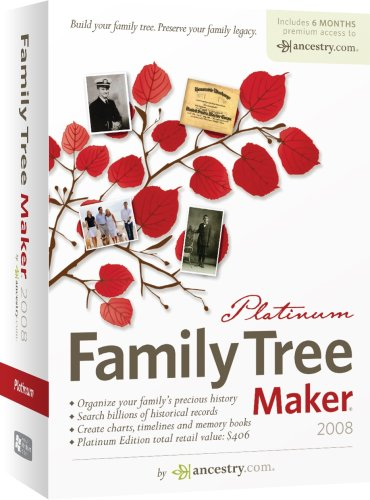 Family Tree Maker 2008 Platinum [OLD VERSION]