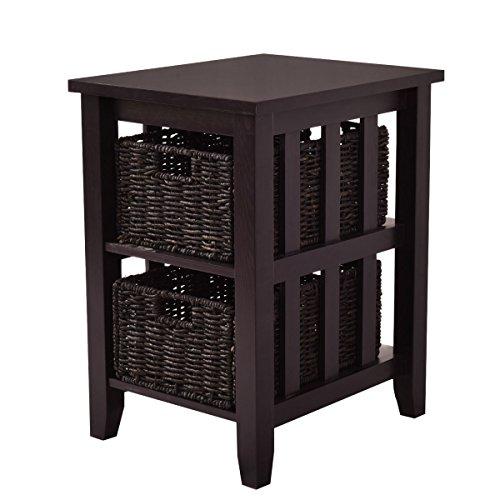 2 shelf side table - 7