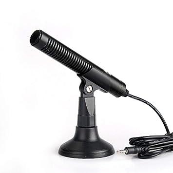LIUGUANJIANG Micrófono de Ordenador de sobremesa Micrófono de ...