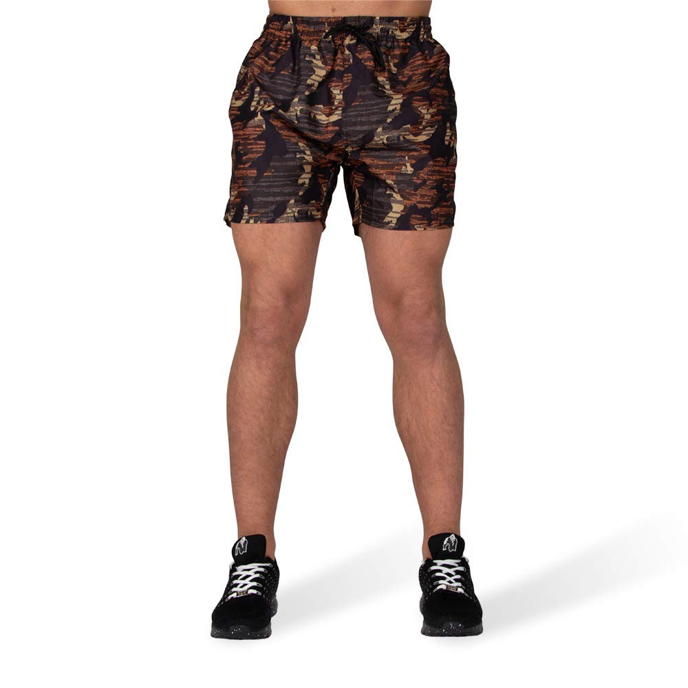 GORILLA WEAR Bailey Shorts Brown Camo/_4XL