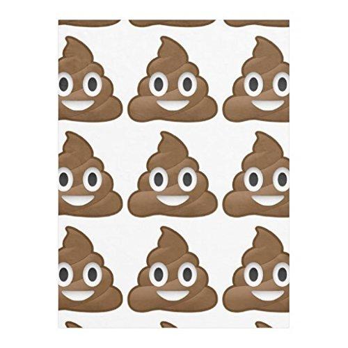 Emoji Poop Blanket
