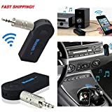 NEW Bluetooth Wireless Audio Receiver 3.5mm for Car Stereo Music Dongle Adapter Hands Free