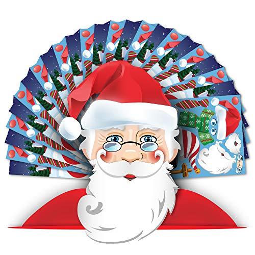 Colonel Pickles Novelties Make A Santa Sticker Kits