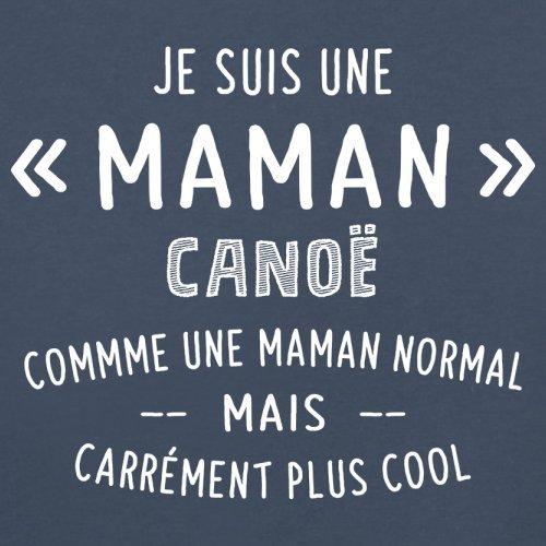 une maman normal canoë - Femme T-Shirt - Bleu Marine - XXL