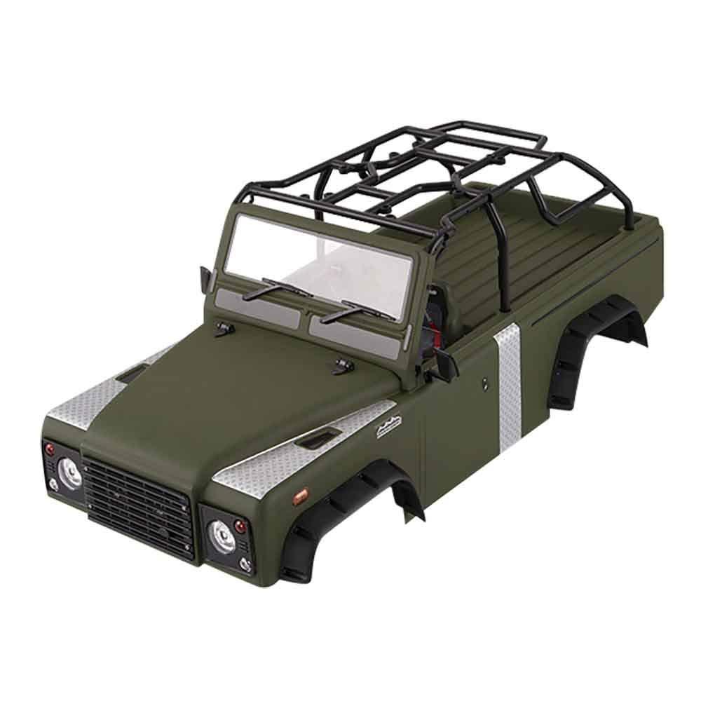 GoolRC RC車体シェル キット 313mm ホイールベース アキシャル SCX10 SCX10Ⅱシャーシ 1/10 RCクローラー 用Killerbody MARAUDER_Ⅱ B07SJ3Z1MM