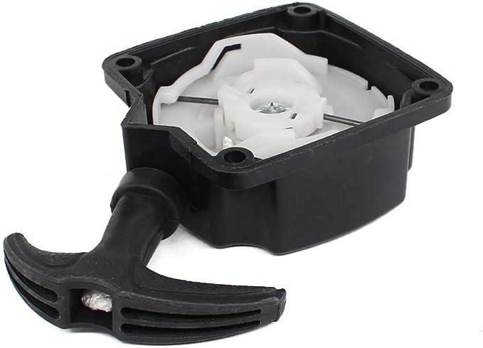 AISEN Recoil Pull Starter Assembly for Jiffy 4057-S 4057 STX Pro II Model 34 Model 30XT SD60i Model 60 Jiffy Feldmann Ice Fishing Auger Drill