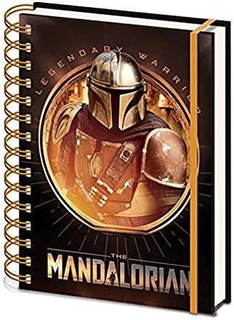 Star Wars: The Mandalorian – Cuaderno de notas A5 en espiral (Bounty Hunter): Amazon.es: Oficina y papelería