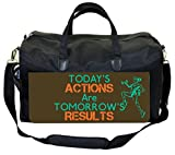 Today's Actions Are Tomorrow's Results Therapist Bag