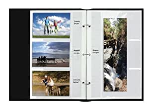 4X6 REFILL PAGES - 30 PHOTOS - 30 PHOTO REFILL PAGES FOR BTA204 - Photo Album
