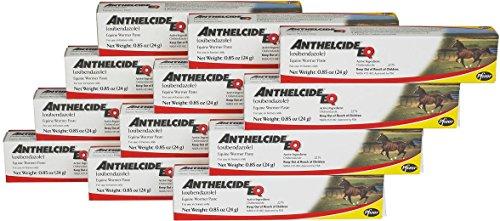 Pfizer Anthelcide EQ Equine Wormer Paste De-Wormer Horse 12 - Zimecterin Paste