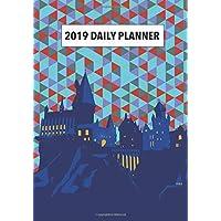 Hogwarts 2019 Daily Planner: Monthly Organiser 2019-2020 Calendar Journal Notebook