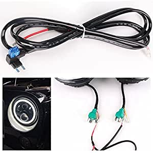 51fruyWZUvL._SY300_QL70_ Jeep Tj Headlight Wiring Harness on jeep tj headlight conversion kit, jeep tj headlight bulb, jeep tj headlight relay,