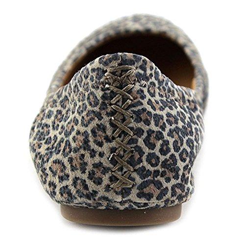 Glückliche Frauen Emmie Ballet Flat Brindle Persischer Leopard