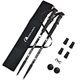 Moon Lence Trekking Poles Lightweight Telescopic Walking Sticks Ultralight Climbing Hiking Poles