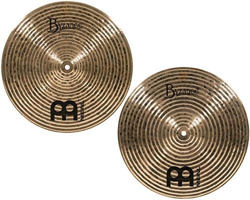 meinl cymbals b14sh byzance 14 inch dark spectrum hi hat cymbal pair video drum buy online. Black Bedroom Furniture Sets. Home Design Ideas
