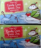 Trader Joe's Decaffeinated Candy Cane Green Tea – 20 Tea Bags – 2 Pack Review