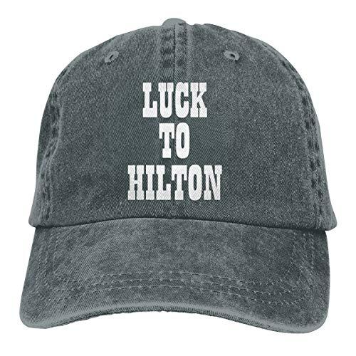 - Moore Me Adjustable Baseball Cap Blue Indianapolis Luck to Hilton Cool Snapback Hats