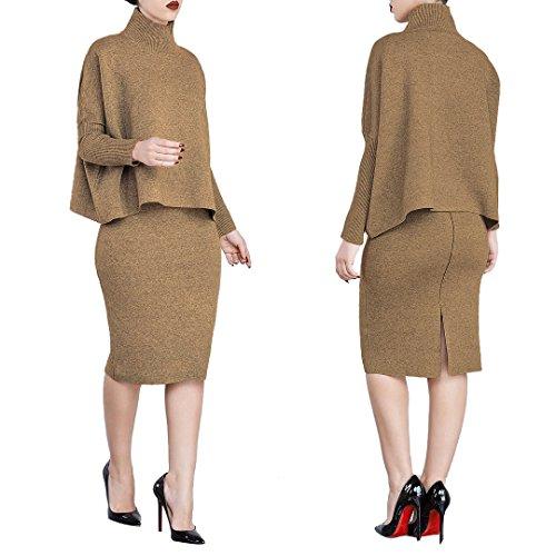 brown dress - 7