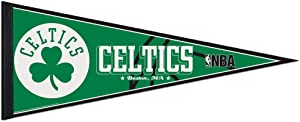 "WinCraft NBA Boston Celtics WCR63829312 Carded Classic Pennant, 12"" x 30"",,green"