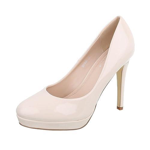 super popular c2e87 68ad7 Zapatos para Mujer Zapatos de Tacon Tacón de Aguja Tacones Altos Ital-Design