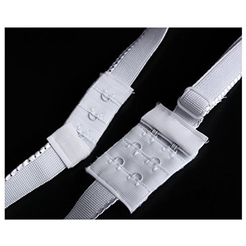 Deep 01 Strap 4pcs cou Sous Transporteur Pour De Set V Bra Bracelet Invisible Andux Robe Extension Soirée Backless Blanc Yxjd Back vêtements 8SRqYx