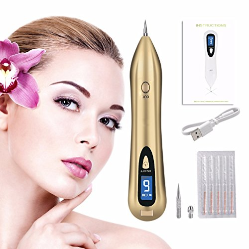 Price comparison product image Pro Spot Eraser Beauty Mole Removal Sweep Spot Pen Easy and No Bleeding Freckles Skin Tag Remover Pen Rechargeable Home Use Spot Remover Pro by Yartar