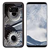 Luxlady Samsung Galaxy S8 Plus S8+ Aluminum Backplate Bumper Snap Case IMAGE ID: 20440836 old tires for protection of ship in the harbour