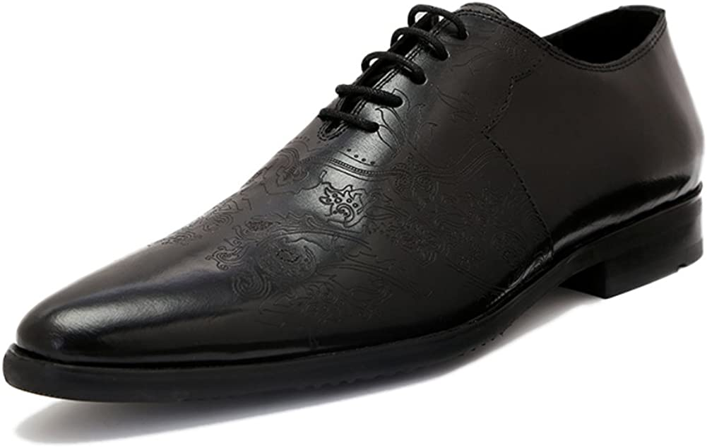 WLJSLLZYQ Fashion Business Men//Pointed Shoes of England