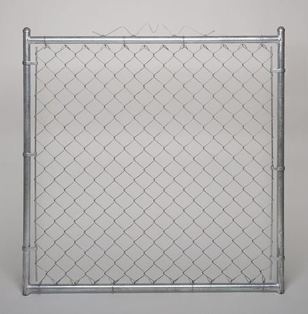 Chain Link Walk Gate, 9 ga, 48 W x 48 In H by Materro