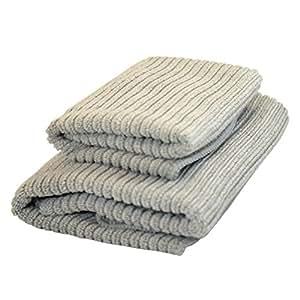 Norwex Antibacterical, Antimicrobial, Microfiber Kitchen Cloth & Kitchen Towel Set (Graphite)