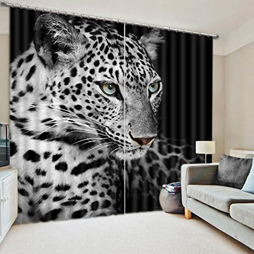 Modern Luxury 3D Curtains Drapes For Bed room Living room Office Hotel Cortinas Tiger Animal Blackout Shade Window Curtains by JetkyShop