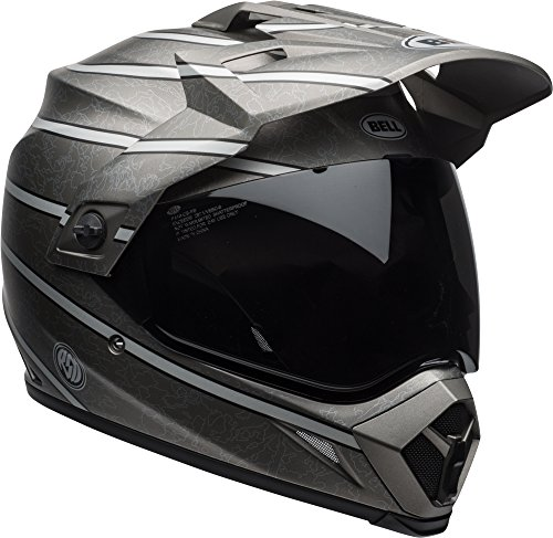 Bell MX-9 Adventure MIPS Full-Face Motorcycle Helmet (RSD Matte Max, Large) (Best Mx Helmet Under 200)