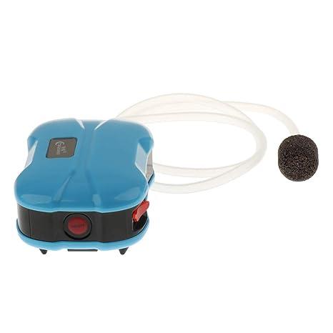 FLAMEER Bomba de Oxígeno USB Tanque de Peces Acuario Silencioso Recarga - Salida 1