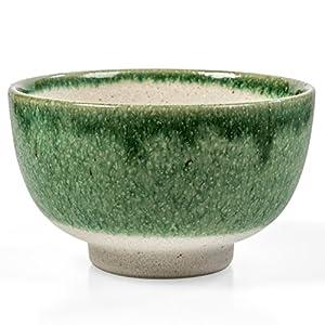 Tealyra - Matcha - Start Up Kit - Matcha Green Tea Gift Set - Japanese Made Bowl - Bamboo Whisk and Scoop - Gift Box