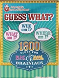 Professor Murphy's Game Cards: Guess What?: 1800 Clues for Big & Little Brainiacs
