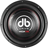 DB Drive WDX12 2K Wdx Series Competition Subwoofer (12)
