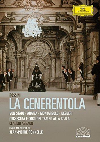 (Rossini - La Cenerentola / Frederica von Stade, Francisco Araiza, Paolo Montarsolo, Claudio Desderi, Laura Zannini, Claudio Abbado)