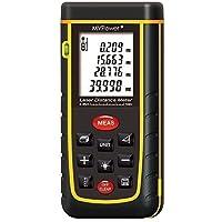 MVPower Laser-Entfernungsmesser 0,05-40 m Messbereich +/- 2mm Messgenauigkeit Laser Distanzmessgerät 60m/80m/100m