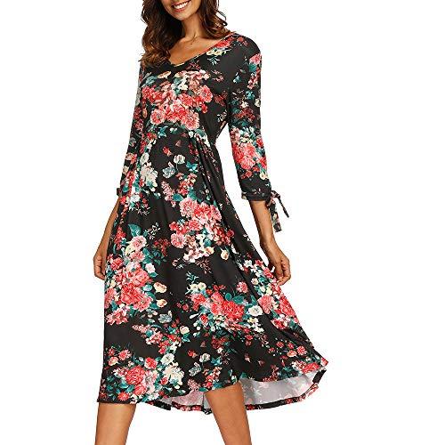 Prom Casual Mujer Larga Large Vestido Largos Beladla Elegante Fiesta De Vestidos Boho Moda Negro Playa Manga Cóctel Beachwear Sexy 0WEqHE1wZn
