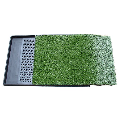 Portable Puppy Dog Grass Toilet Training Mat 3 Layer Indoor Pad Potty Zoom Park Training Toilet for Dog Cat