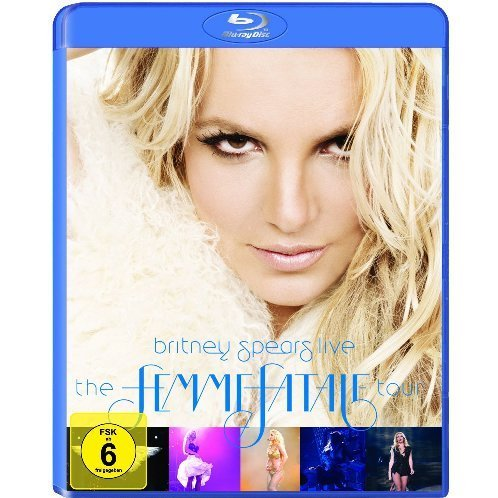 Blu-ray : Britney Spears - Britney Spears Live: The Femme Fatale Tour (Blu-ray)