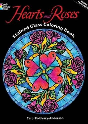 Coloring Pages Hearts And Roses - Coloring Home | 500x356