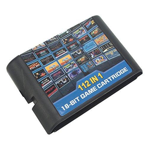 DODOING 112 in 1 for Sega Megadrive Genesis Game Cartridge Include Contra Gunstar Heroes