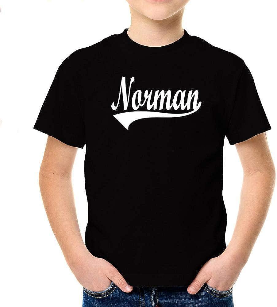 Idakoos Norman Baseball Style Boy T-Shirt