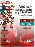 Guía Práctica de interpretación analítica y diagnóstico diferencial en pequeños - Libros de veterinaria - Editorial Servet