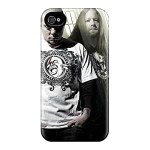 AlissaDubois Iphone 4/4s Scratch Resistant Cell-phone Hard Covers Custom Vivid Chimaira Band Skin [znT8470HPRS]