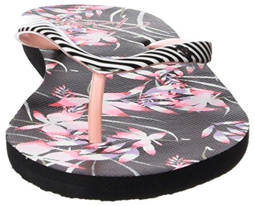 Sandales Plateforme Roxy Portofino Multicolore Multi black Femme wqq4En5C